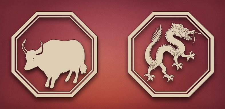 совместимость дракон бык в отношениях