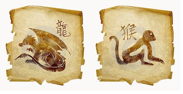 совместимость дракон обезьяна