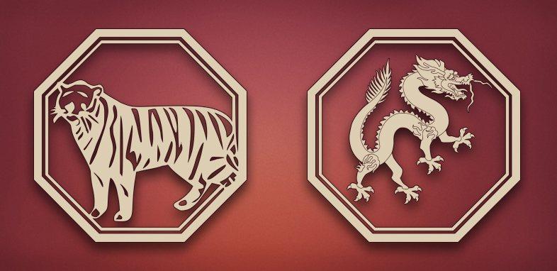 совместимость дракон тигр в отношениях