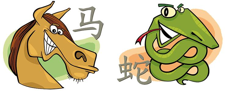 совместимость лошадь змея в отношениях