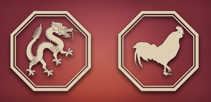 совместимость петух дракон в отношениях