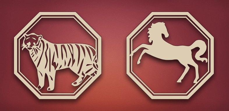 совместимость тигр лошадь в любви