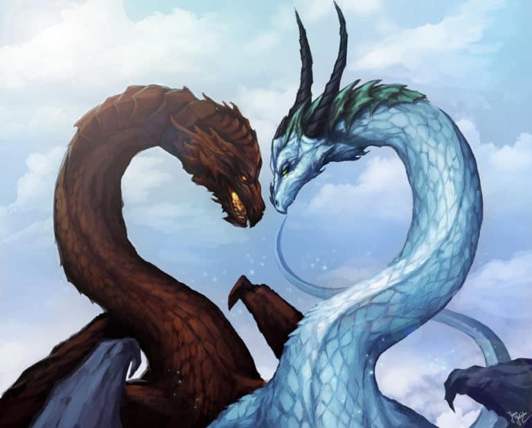 совместимость змея дракон в любви