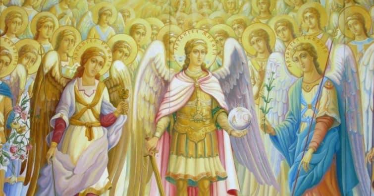 иерархия ангелов и архангелов
