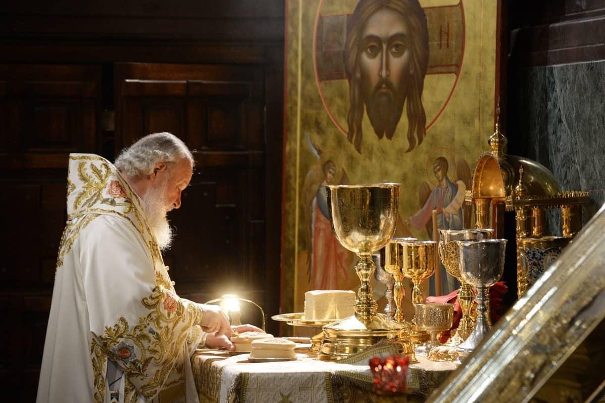 поведение в православной церкви