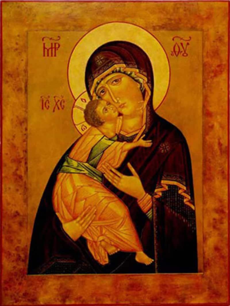 икона божьей матери умиление