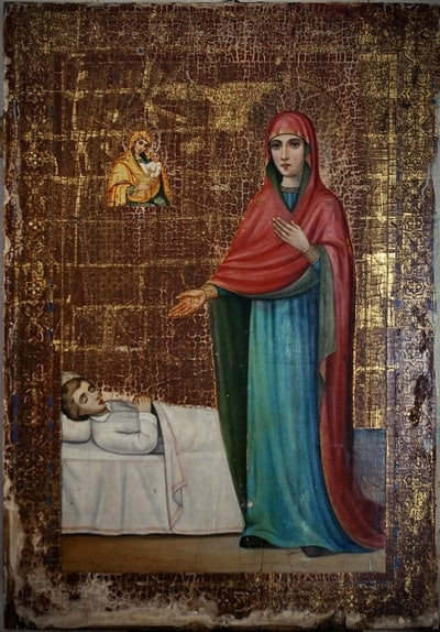 икона целительница фото и молитва