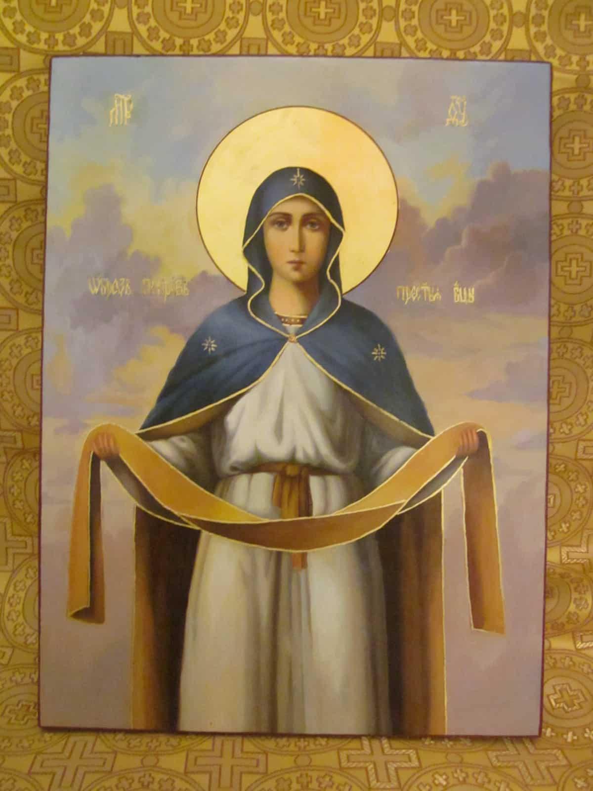 Молитва иконе покрова пресвятой