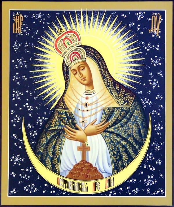 Икона Божией Матери Остробрамская: значение иконы, в чем помогает и от чего защищает, молитва