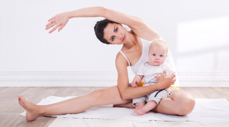 йога помогает быстрее восстановиться после родов