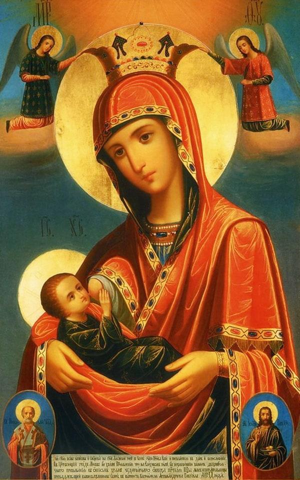 Какой иконе молиться, чтобы забеременеть и родить здорового ребенка