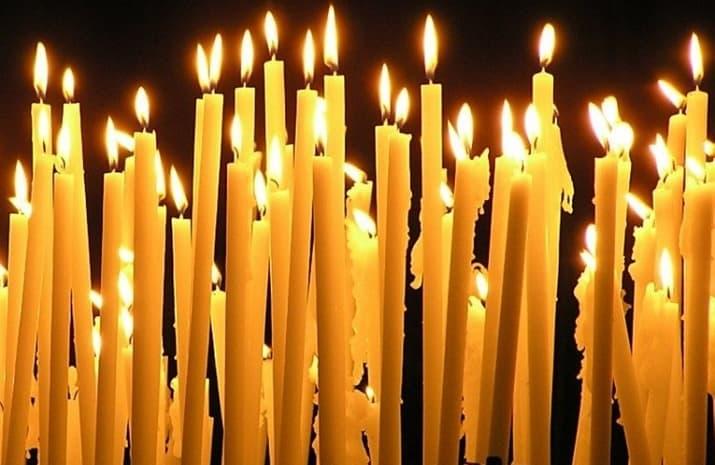 Молитва на свечу церковную
