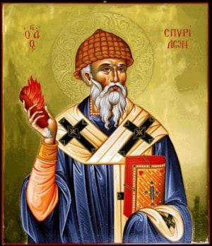 Житие Спиридона Тримифунтского - святителя и чудотворца