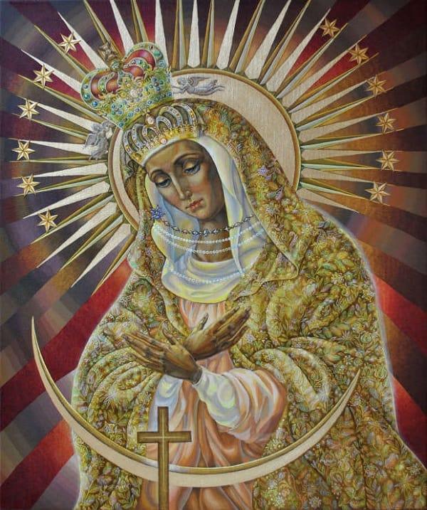 Икона Божией Матери Остробрамская значение иконы в чем помогает и от чего защищает молитва