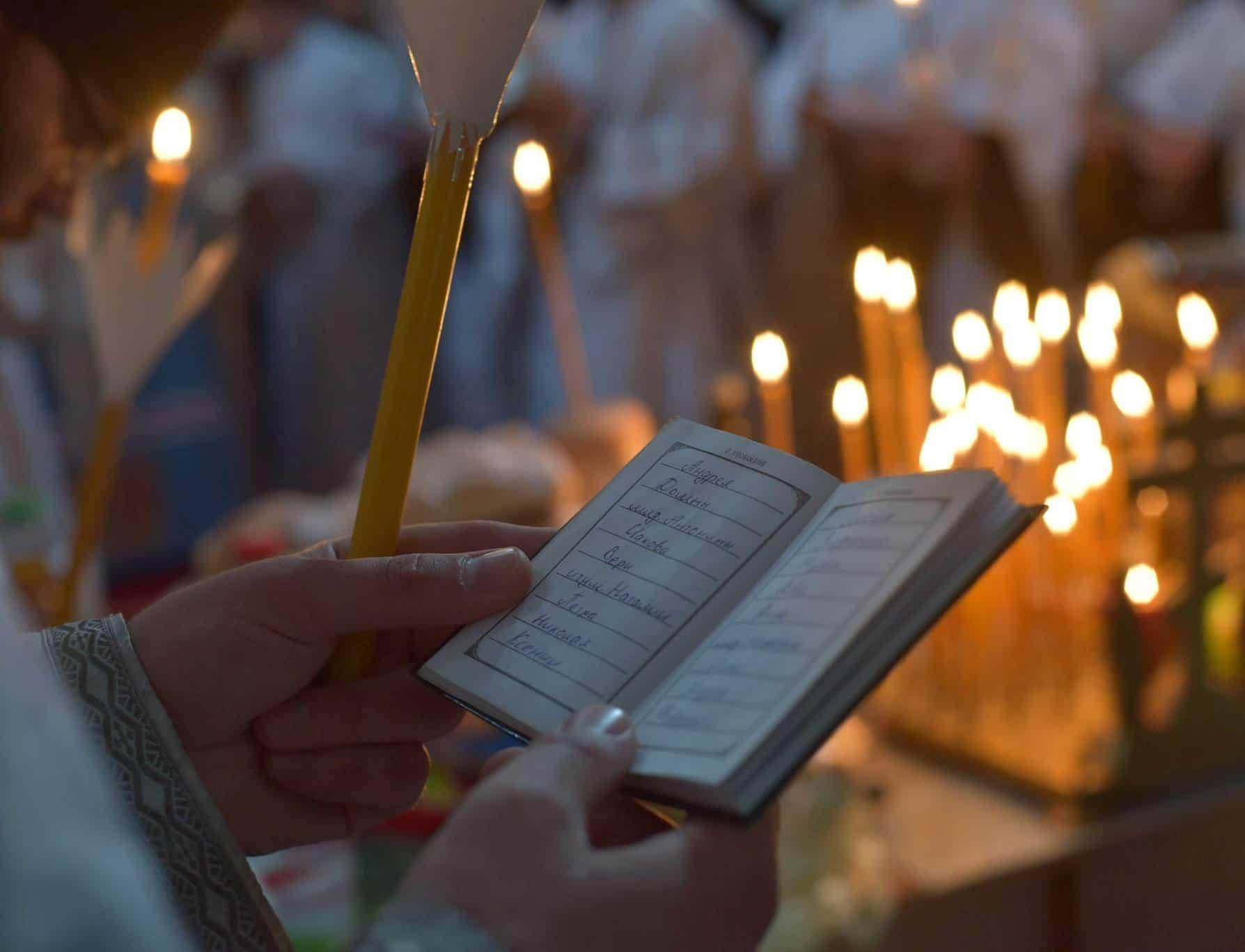 Сретенская свеча: что это, применение, обход дома, молитвы
