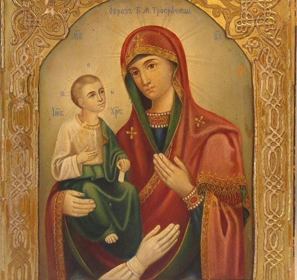 Икона Божией Матери Троеручица: значение, в чем помогает, молитвы