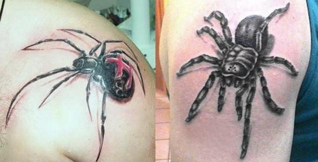 тату паук в мифологии