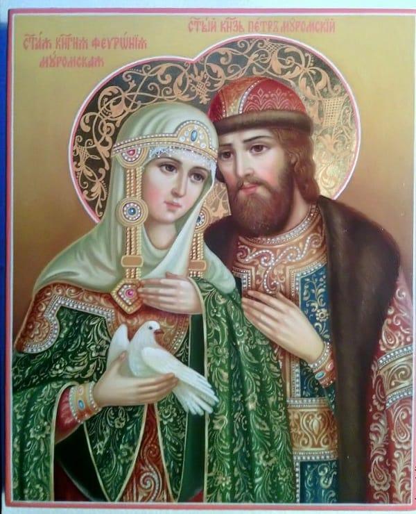 Икона Петра и Февронии: описание и значение, фото, чем помогает