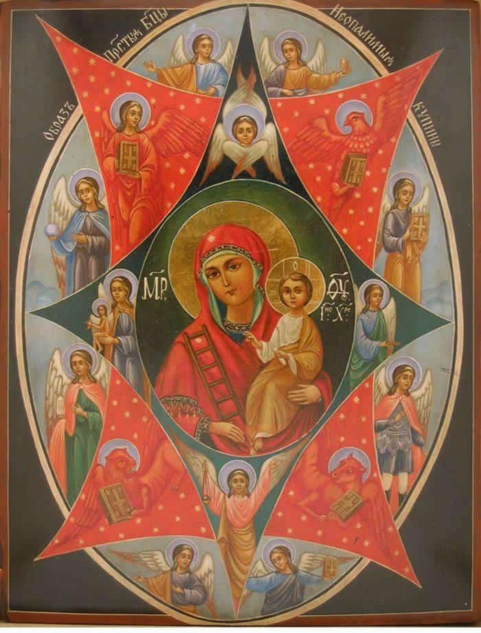 богородица фото
