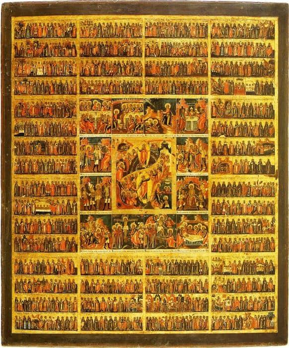 икона всех святых фото и их значение