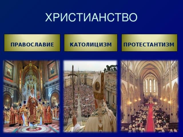 чем отличается христианство от православия