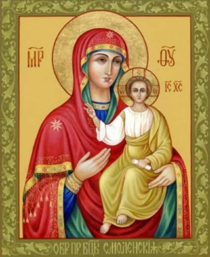 фото иконы пресвятой богородицы