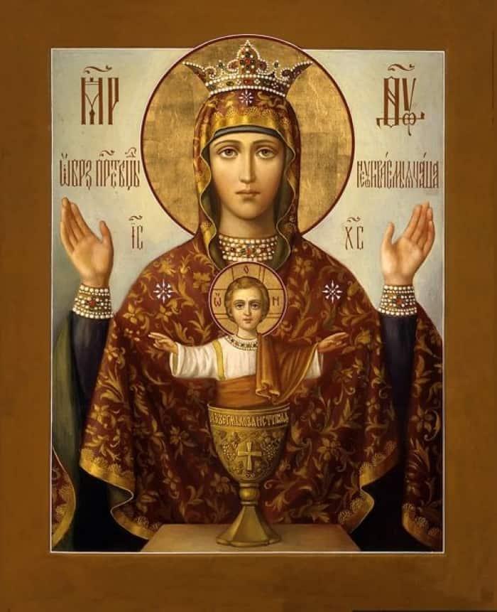 божья матерь иконы все образы
