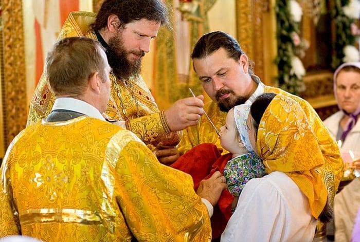 таинство причастия в православной церкви