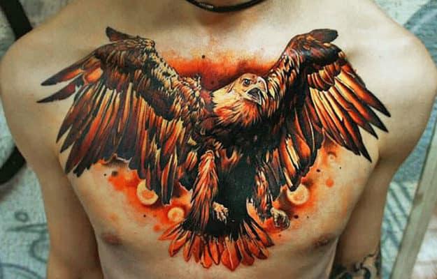современное значение тату орёл