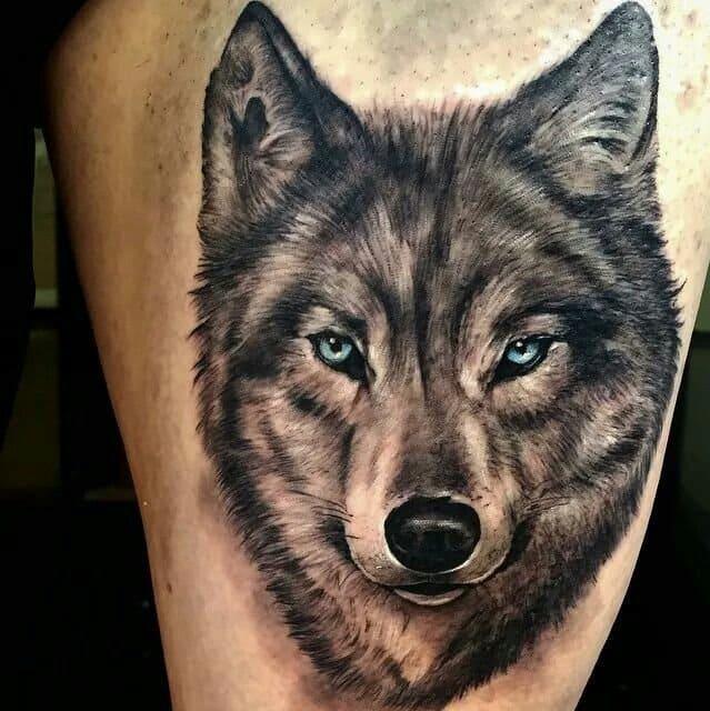 тату волка значение для мужчин