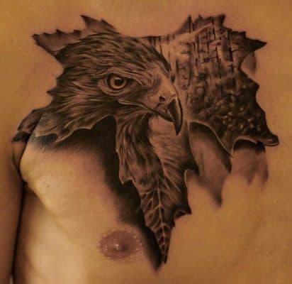 значение тату орёл