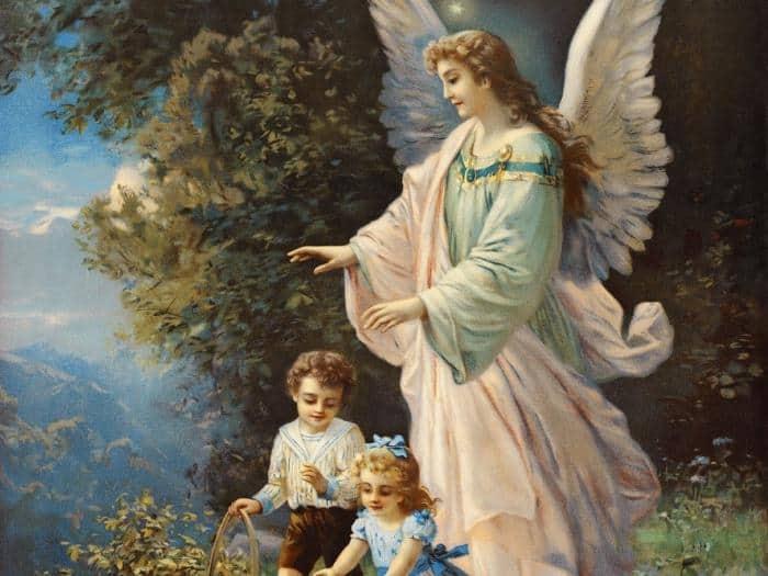 ангел-хранитель помогает человеку всю его жизнь