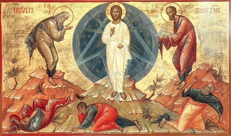 на всех остальных иконах Иисус изображён во весь рост