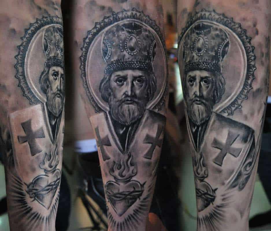 татуировки православные