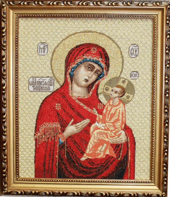 тихвинская икона божией матери в чем помогает