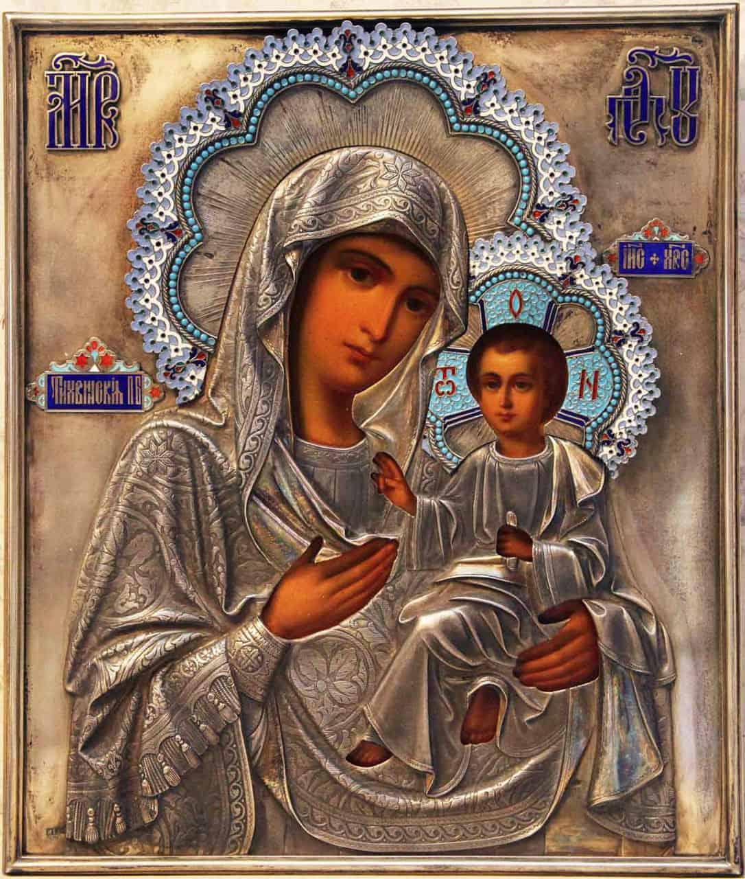 тихвинская иконы божией матери