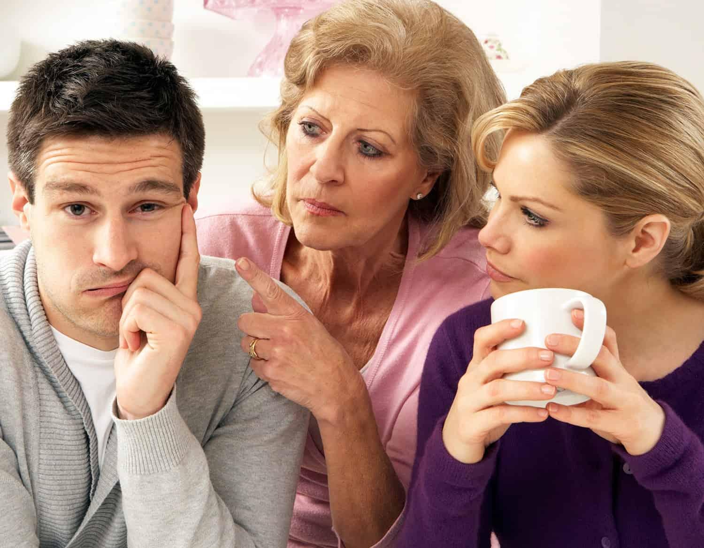 ссоры с родственниками способны портить такие отношения