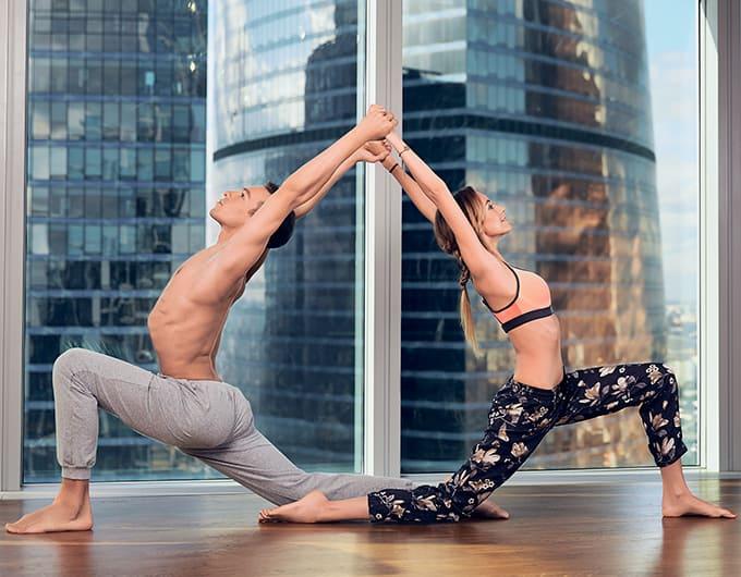 йога на двоих фото