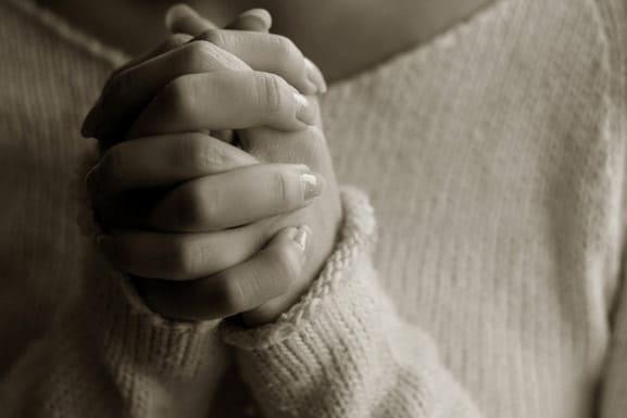 ваша молитва должна быть искренней
