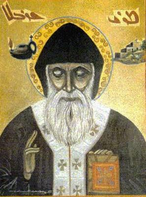 чудотворное изображение Святого Шарбеля