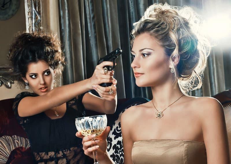 женщины готовы бороться с конкурентками