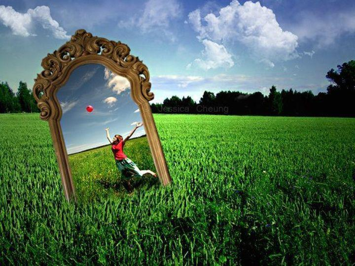 принцип зеркальности работает всегда