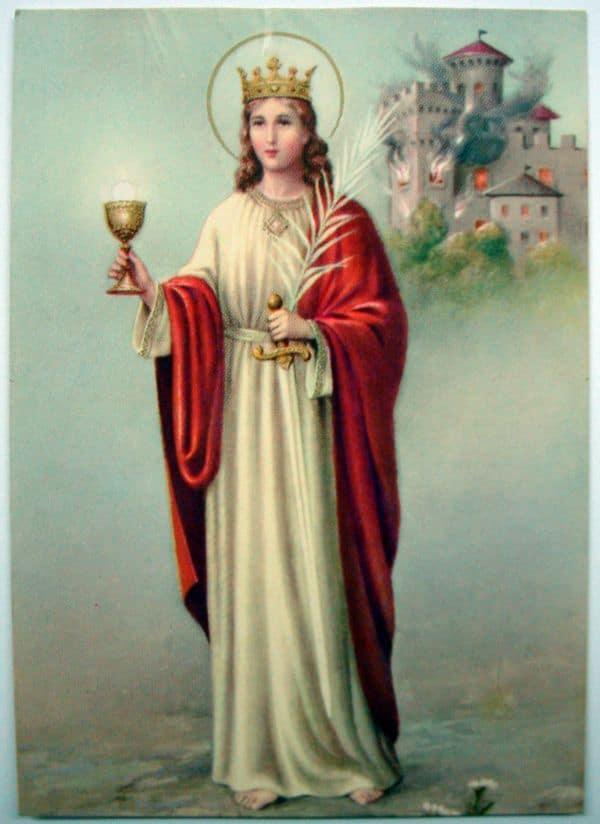 Святая Великомученица Варвара: житие, молитвы, в чем помогает