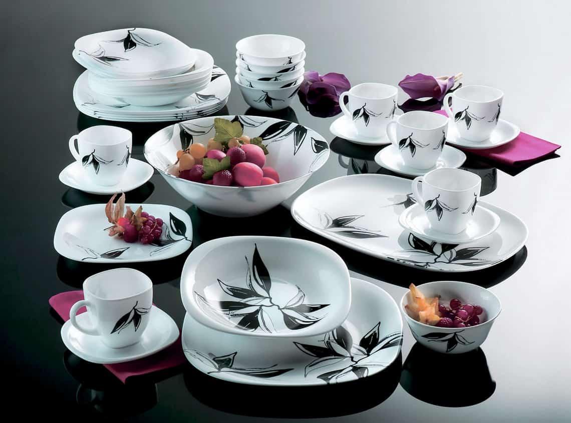 красивая посуда для кухни фото хватает