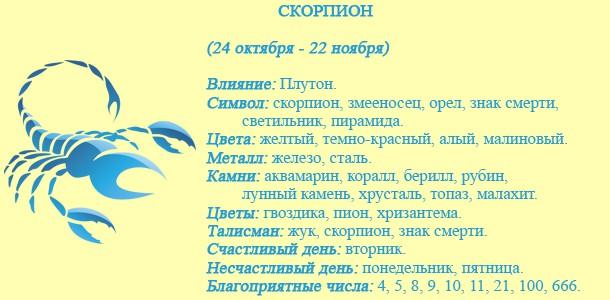 Общий гороскоп по месяцам