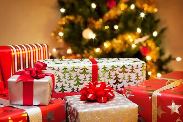 подарки - важная часть Рождества
