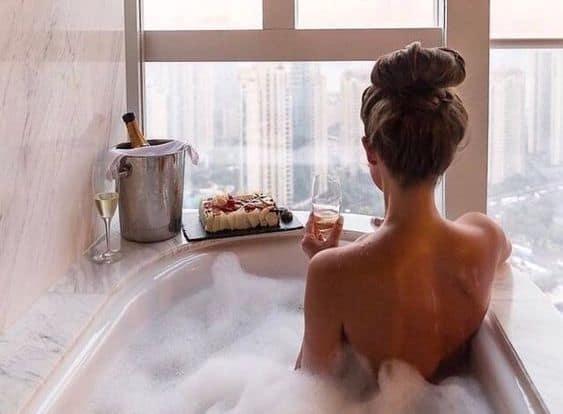 очищающий обряд с ванной