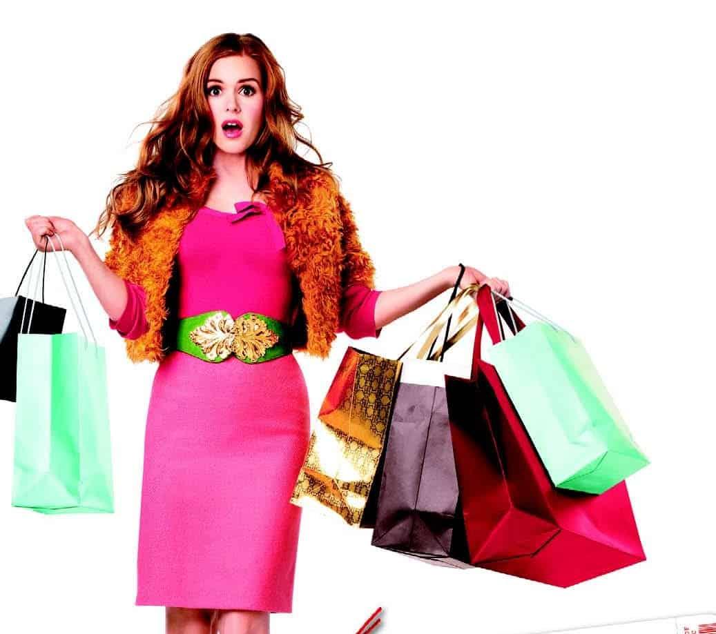 порадуйте себя сейчас покупками