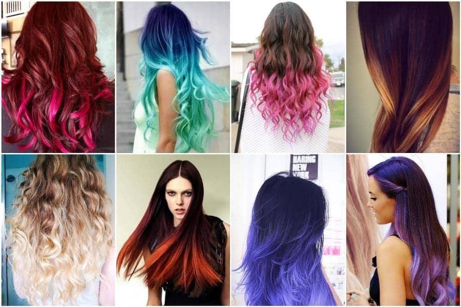 задумайтесь о необычном цвете волос