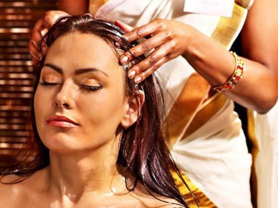 сегодня выполните массаж головы